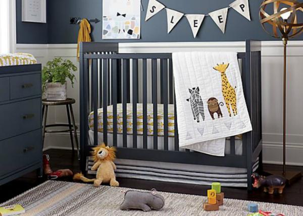 Pokój przyjazny sensorycznie niemowlakowi