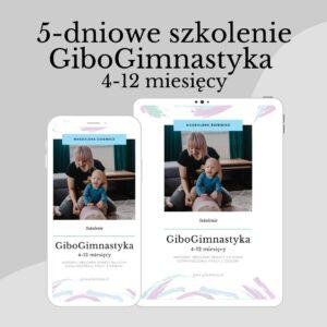 Szkolenie GiboGimnastyka 4-12 miesięcy