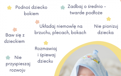 Jak wspierać rozwój dziecka między 2 a 4 miesiącem życia